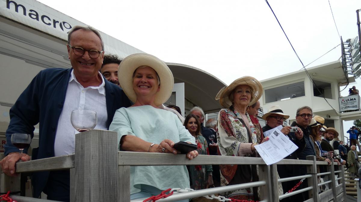 Hippodrome de Biarritz: une belle soirée chapeautée à l'envi pour les prix Château Miller La Cerda et Baskulture