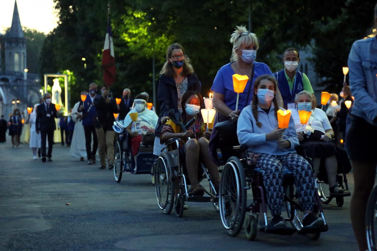 Le 148ème pèlerinage national à Lourdes