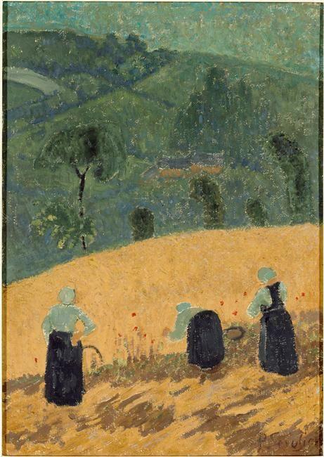 """""""La Moisson"""" de Paul Sérusier 1864-1927"""