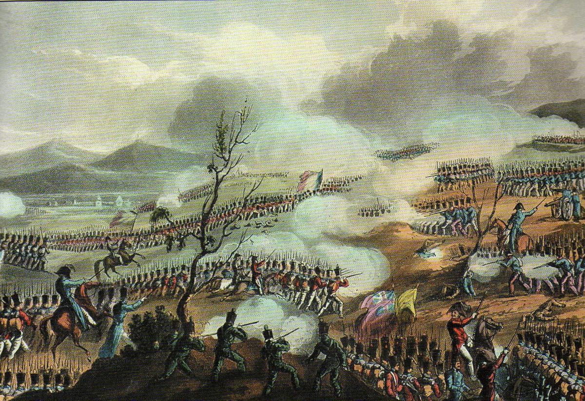 zHistoire2 10 novembre 1813 la bataille de la Nivelle contre les troupes hispano-anglo-portugaises de Wellington.jpg