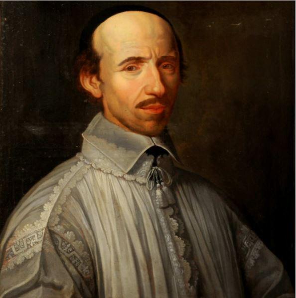 zHistoire1 Martin de Barcos, école française du XVIIIème d'après Philippe de Champaigne.JPG