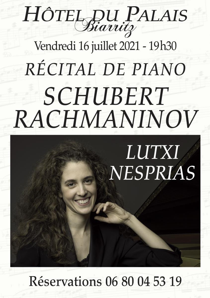 Biarritz: la pianiste Lutxi Nesprias ouvre la saison des récitals musicaux au Palais