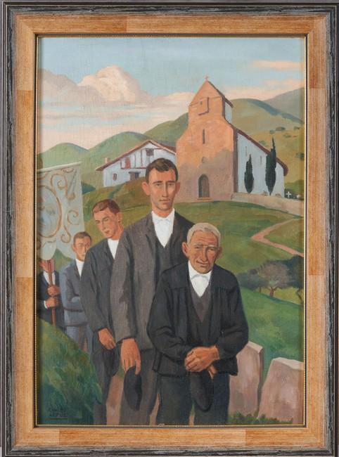 Saint-Jean-de-Luz vendredi 23 et samedi 24 avril, Arts du XXème siècle, régionaliste basque et landais