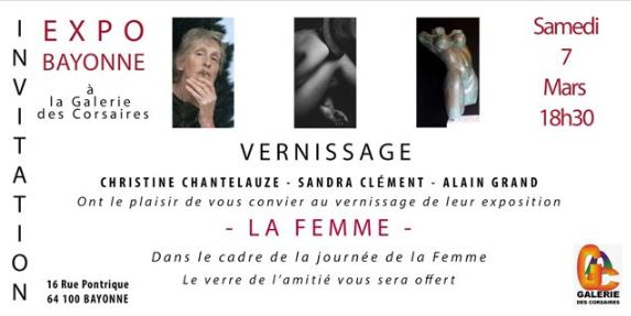 Journée de la Femme à la galerie des Corsaires de Bayonne