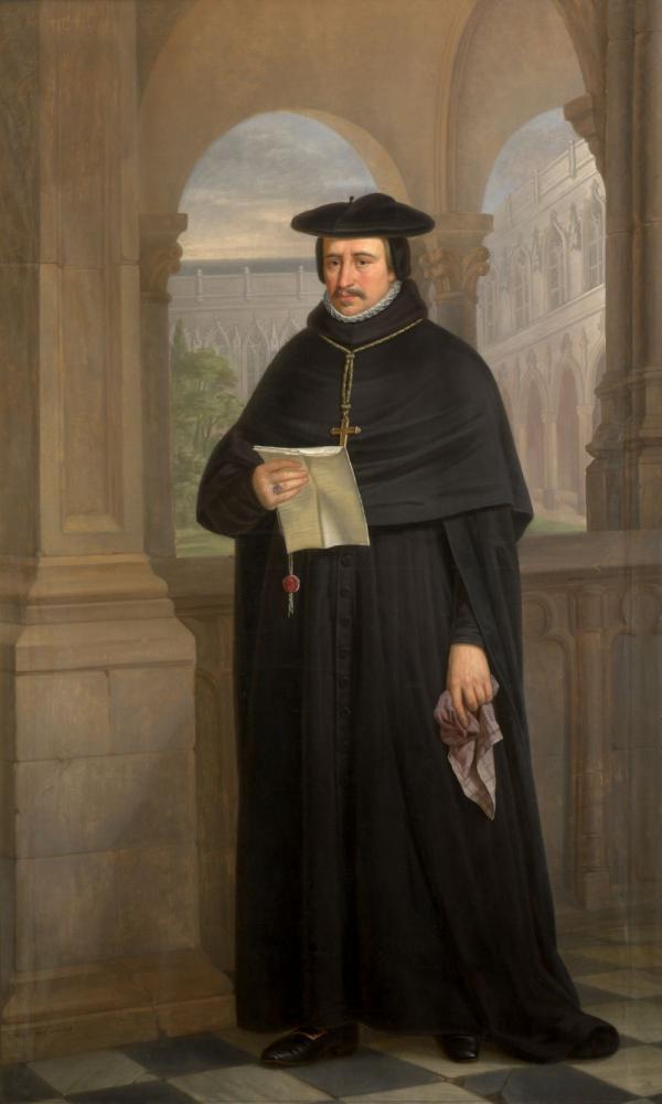 zTradition2 Haut1 Mgr Cornelius Jansenius (cathédrale de Gand).jpg