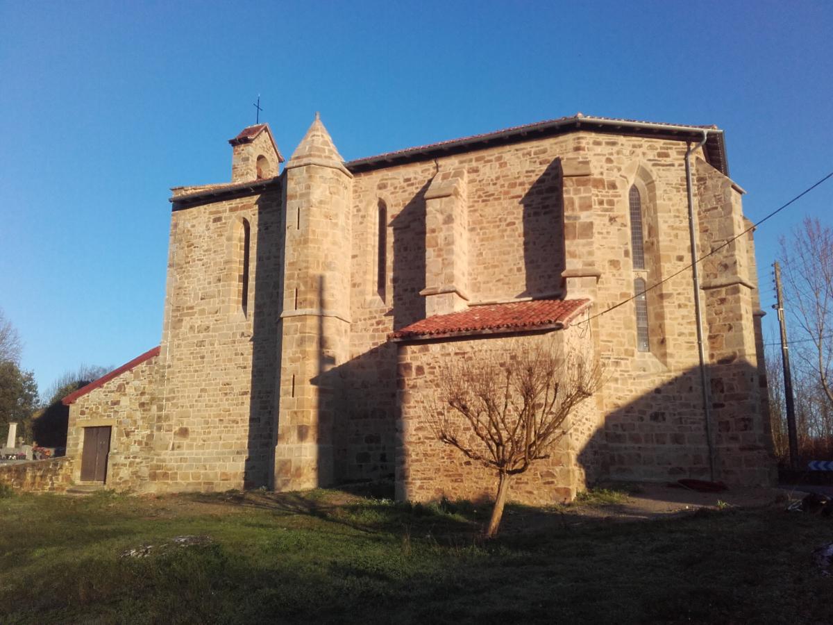 Pays charnégou : l'église d'Arancou restaurée