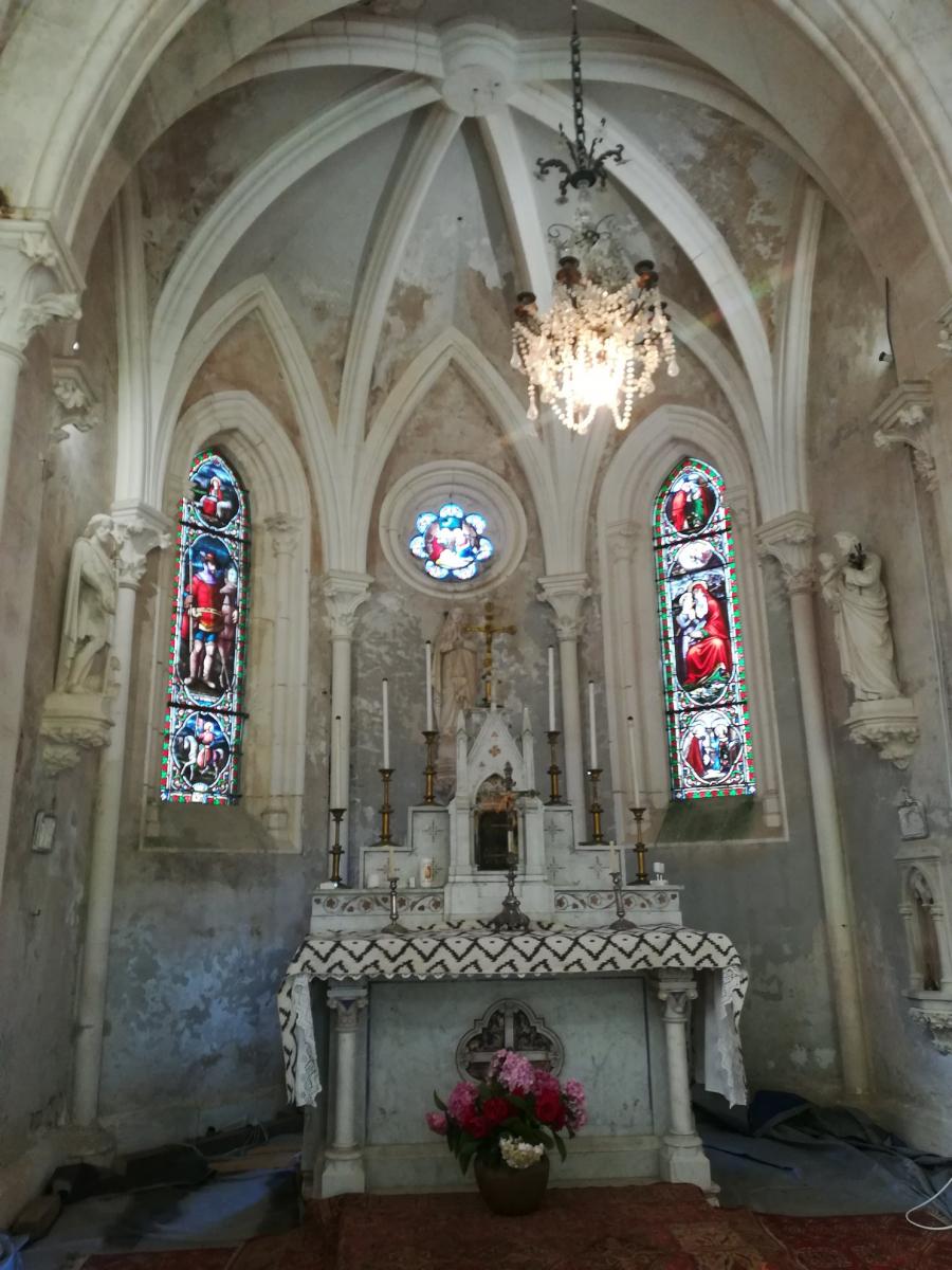 A découvrir samedi 25 septembre : la chapelle de l'île de Bérens sur l'Adour, entre Urt et St-Barthélemy