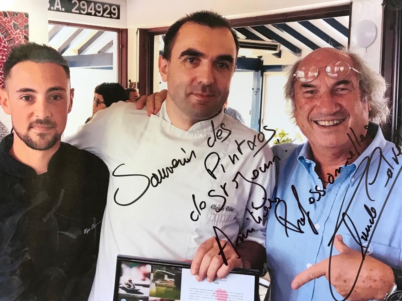 Guéthary : Claude Calvet, champion du pintxo !