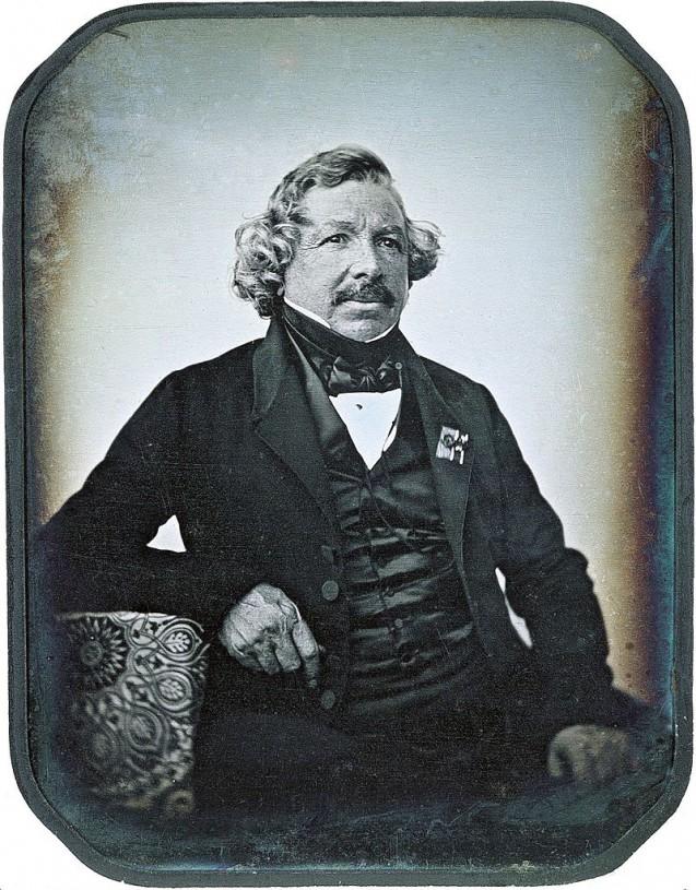 zHistoire2 Daguerréotype de Louis Daguerre en1844 par Jean-Baptiste Sabatier-Blot.jpg