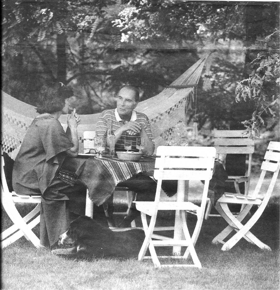 Il y a 40 ans... Voyage en Mitterrandie (I) la nature et les livres à Latche
