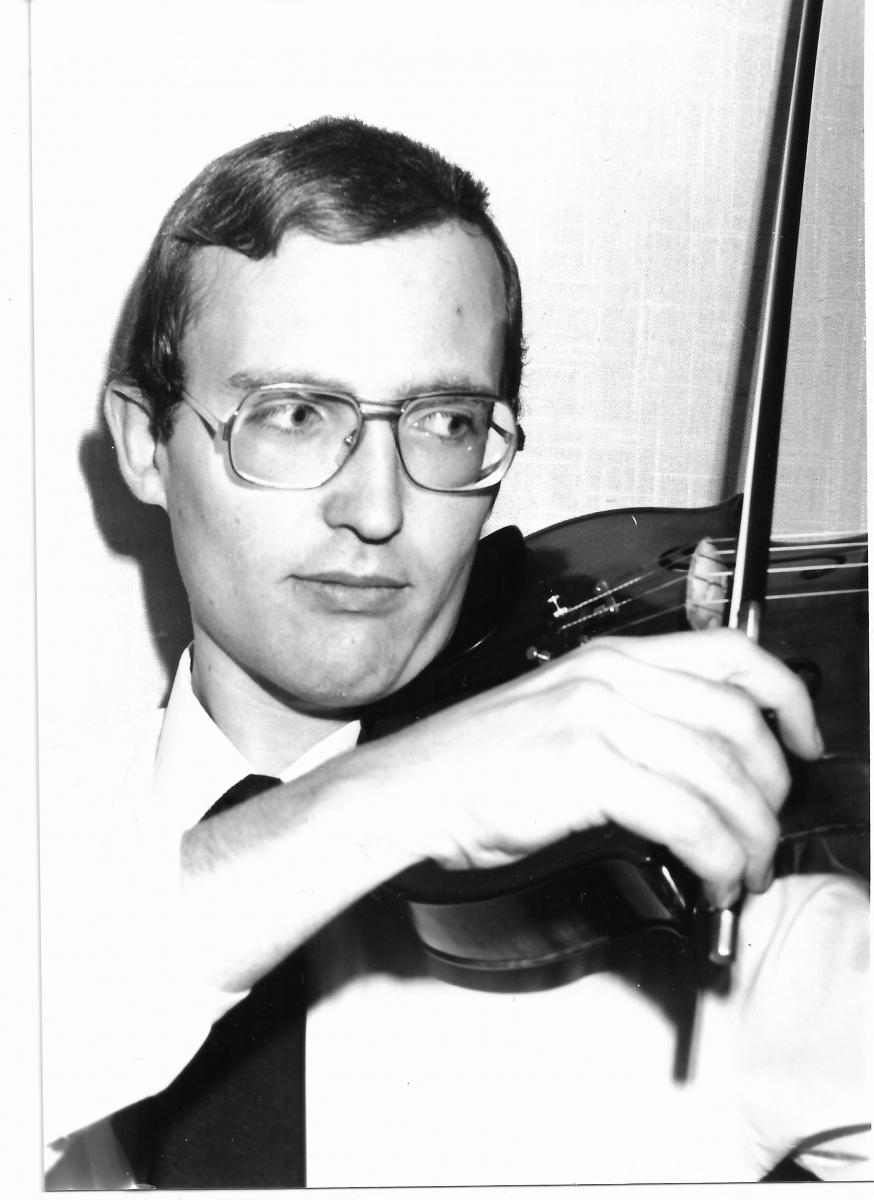 Premiers émois musicaux :  Olivier Seube, altiste et chef d'orchestre