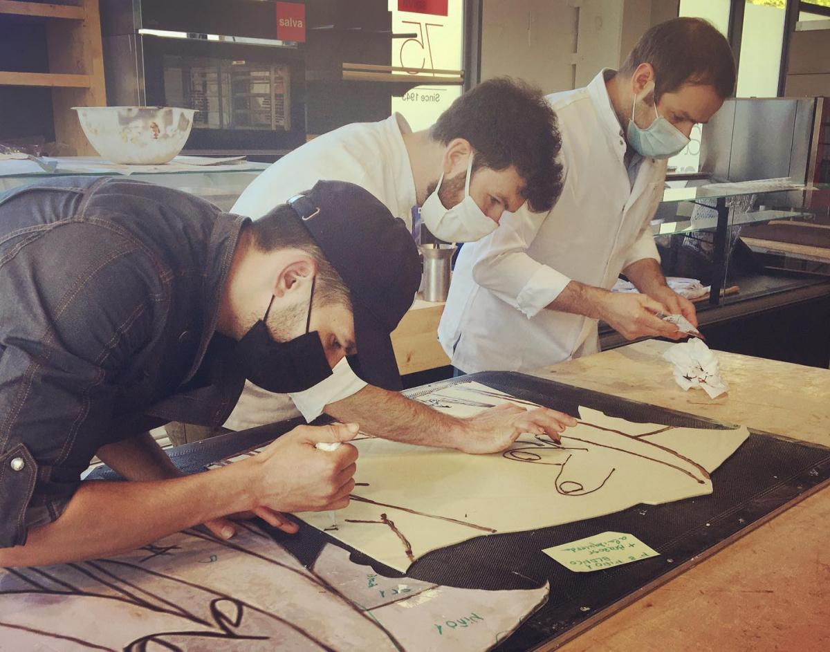 Gernika: les chocolatiers basques réalisent la version «chocolatée» du tableau de Picasso