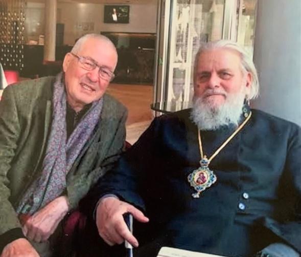 zLivres1 Nikita et Monseigneur Corneille, métropolite de Tallinn et d'Estonie, son codétenu dans les camps de Mordovie.JPG