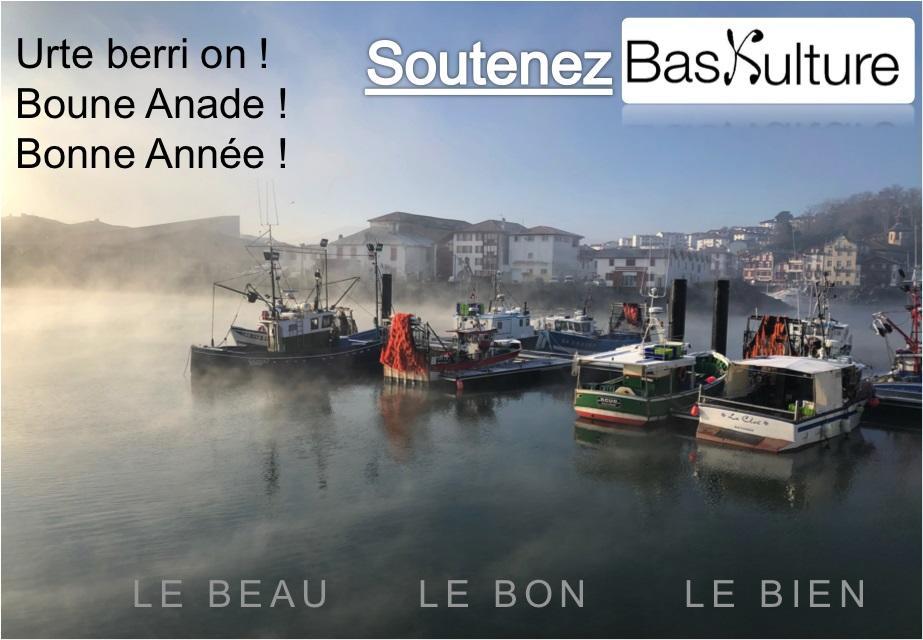 Soutenez notre Lettre et notre site www.baskulture.com