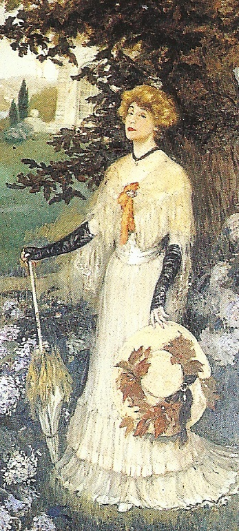 Henri Caro-Delvaille - Rosemonde Gérard à Arnaga.jpg