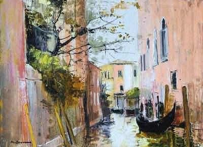 """""""Le canal à Venise"""" par Michel Jouenne"""