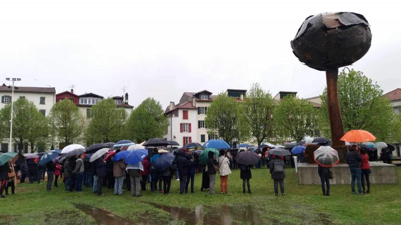 Bayonne : la hache enterrée de l'ETA, de l'Art au service de la paix ?