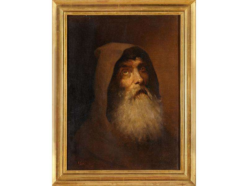 Le moine franciscain par Cano de la Pena
