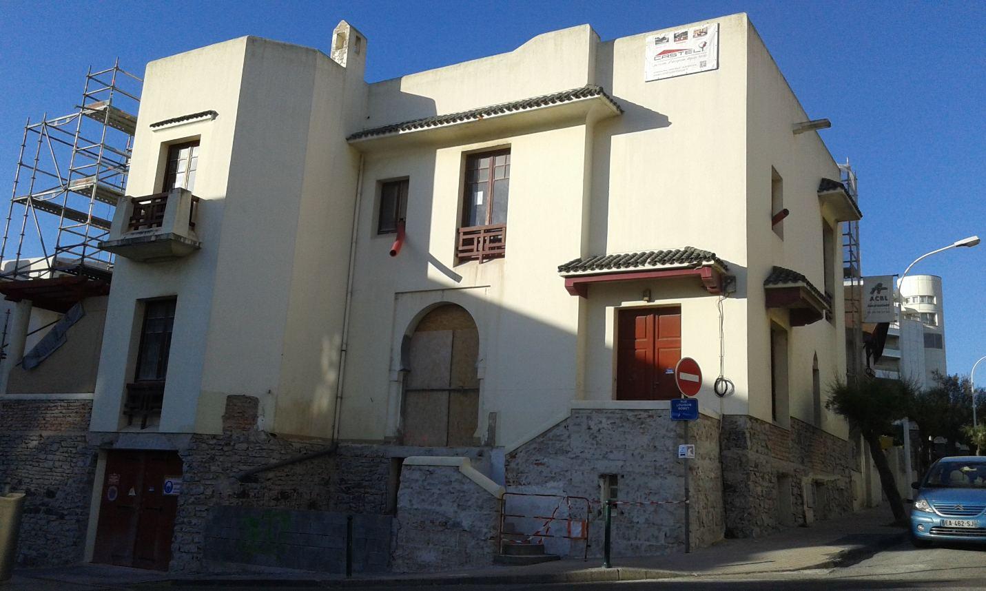 Biarritz : la villa Casablanca fait peau neuve