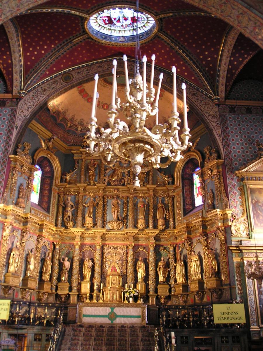 Saint-Jean-de-Luz : l'église Saint-Jean-Baptiste en cours de rénovation