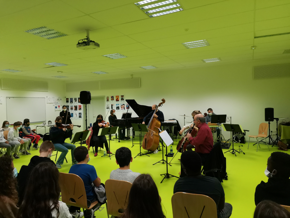 L'Orchestre Symphonique du Pays Basque (re)part à la rencontre des élèves du Pays Basque