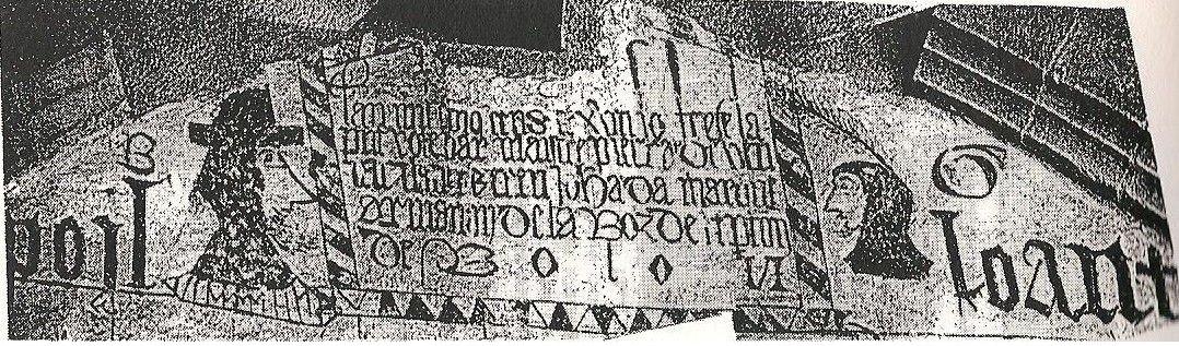 La mystérieuse fresque votive de Poyloault à Saint-Martin-de-Hinx (Landes)