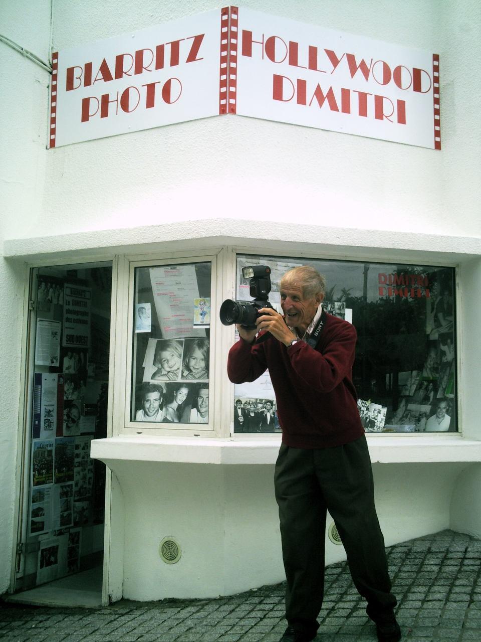 In Memoriam : Jérôme Dimitri, le photographe des stars à Biarritz