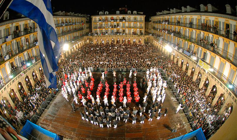 Saint-Sébastien et ses tamborradas, les 19 et 20 janvier