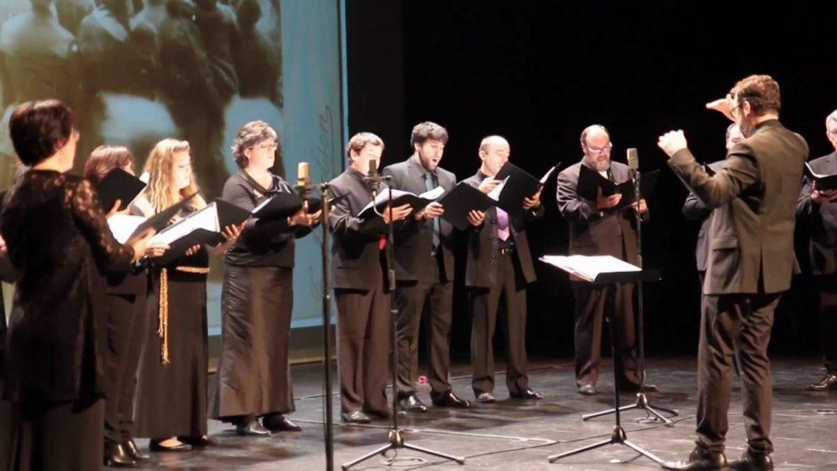 Théâtre Quintaou à Anglet: le concert de retrouvailles du Chœur Ascèse