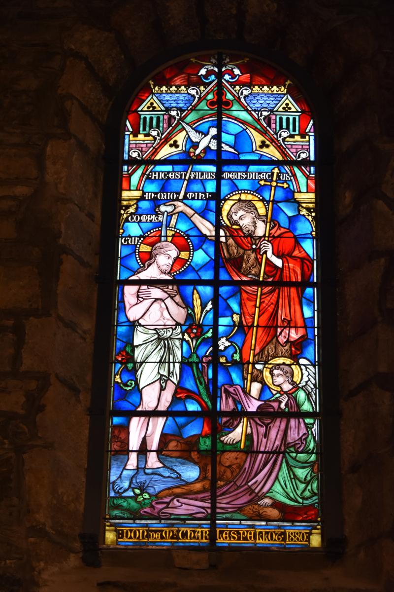 Eglise Saint-Vincent à Hendaye: le retour du vitrail restauré