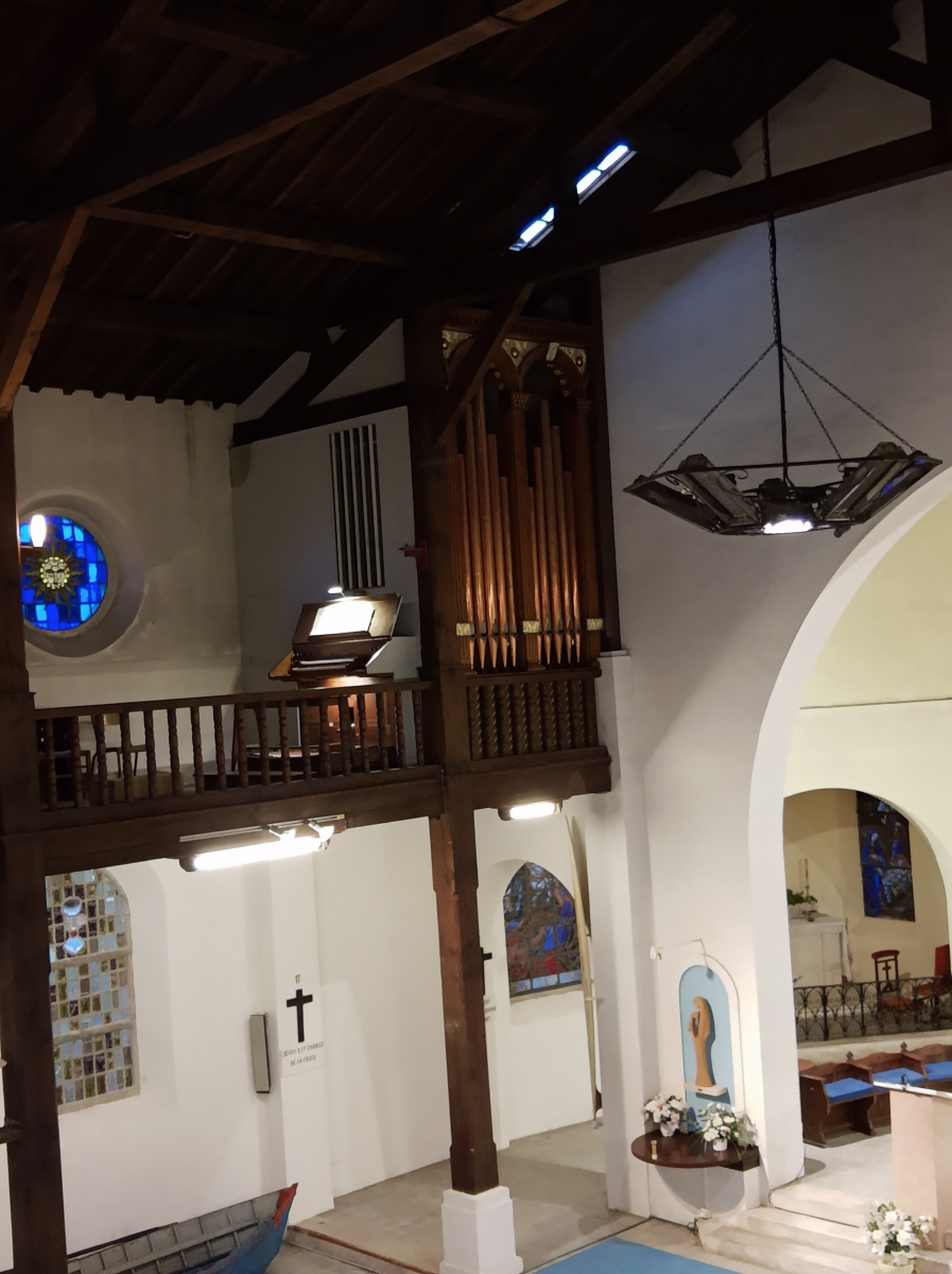 Hendaye: le nouvel orgue de Sainte-Anne