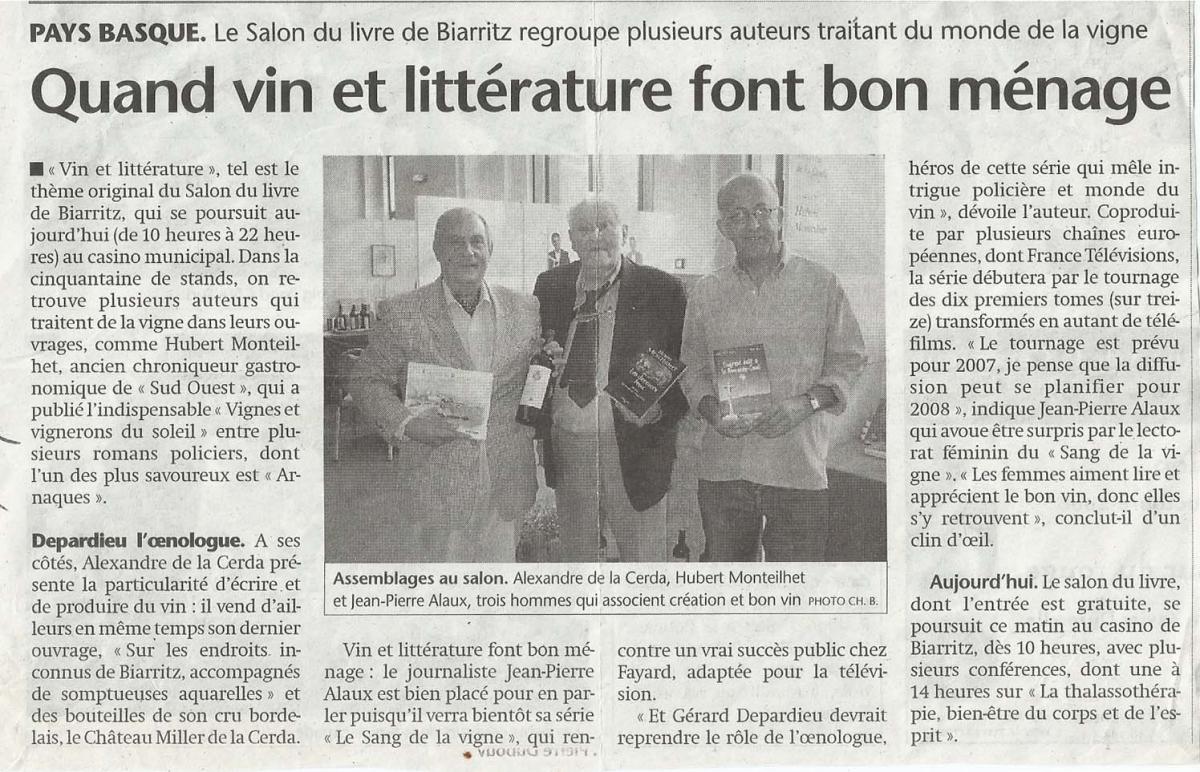 Monteilhet Alaux Alex 2006 Salon du livre Biarritz.jpg
