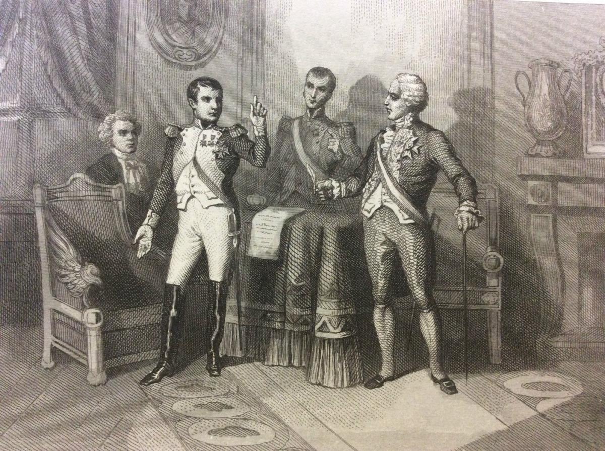 zHistoire1 Napoléon parmi ses conseillers à Bayonne.jpg