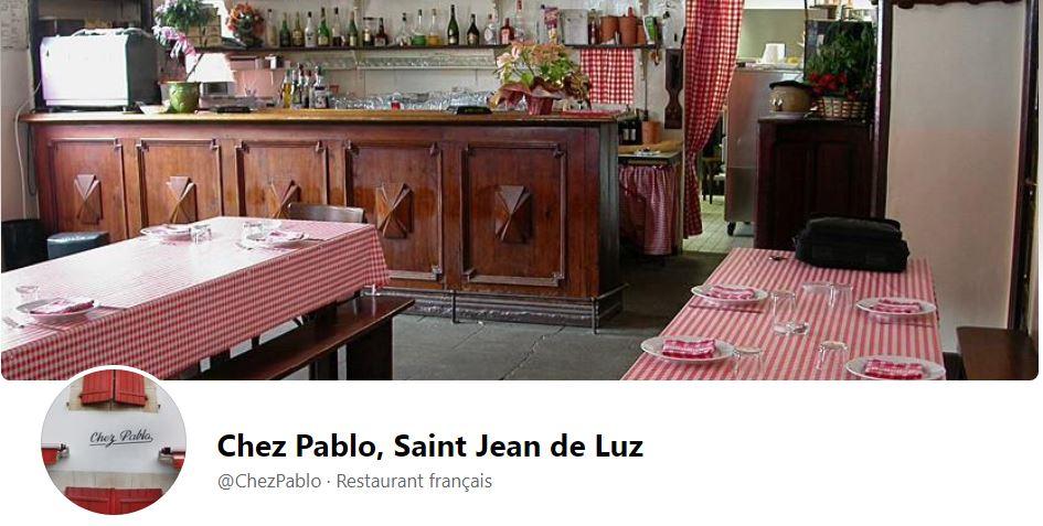 Saint-Jean-de-Luz :  spécialités de poissons Chez Pablo