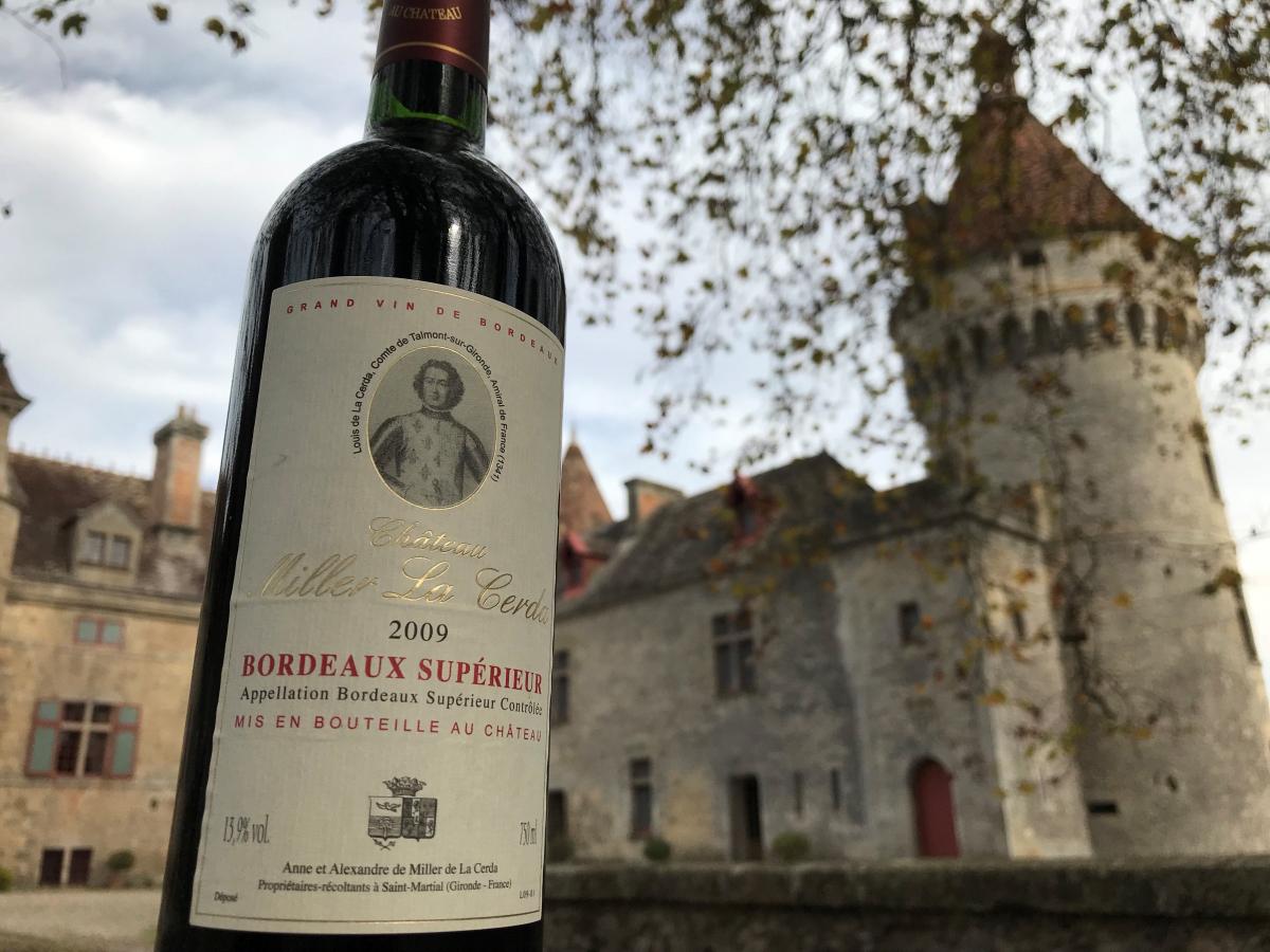 Château Miller La Cerda, un vin de plaisir pour vos tables de fête