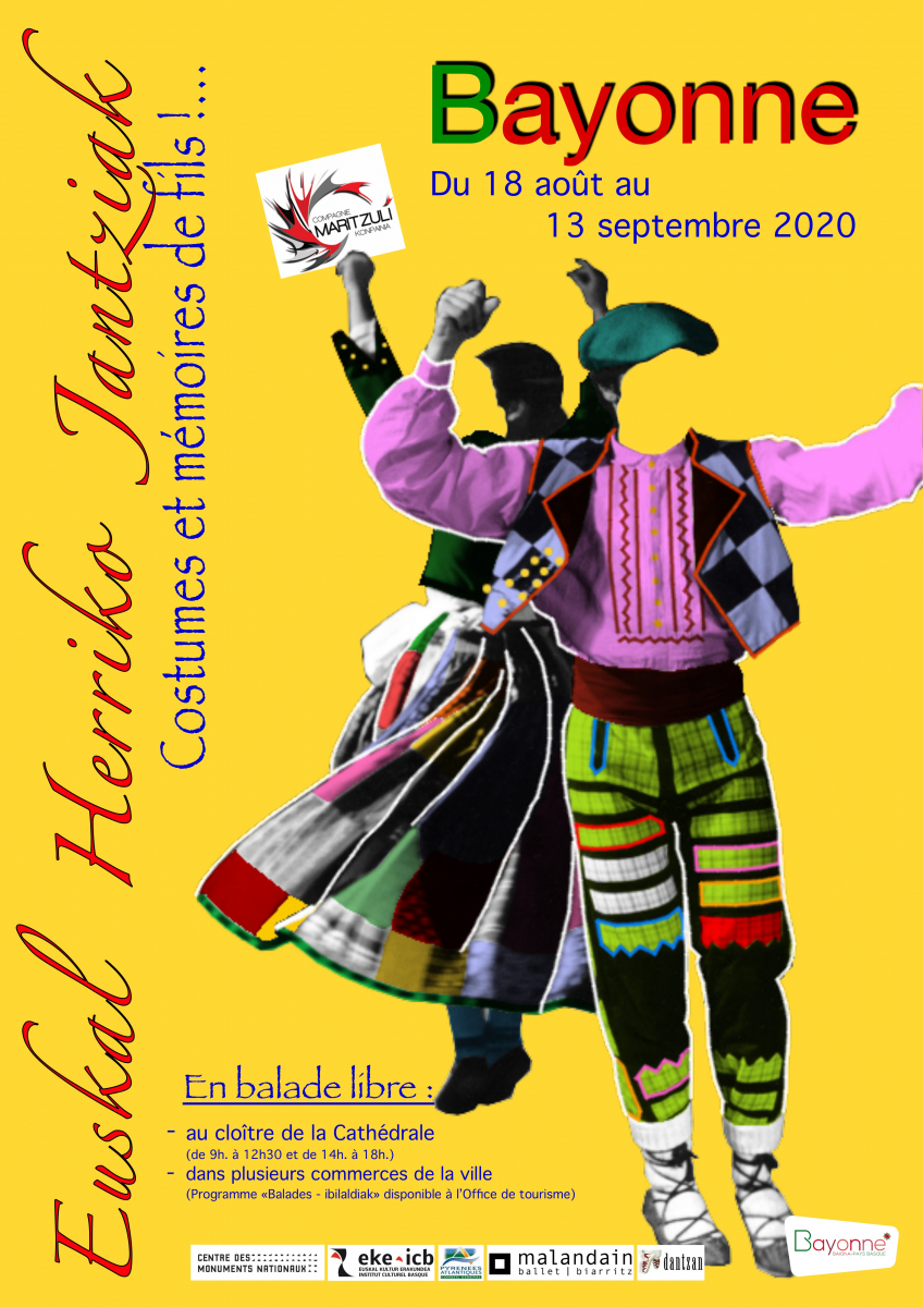 Farandole colorée des costumes civils basques