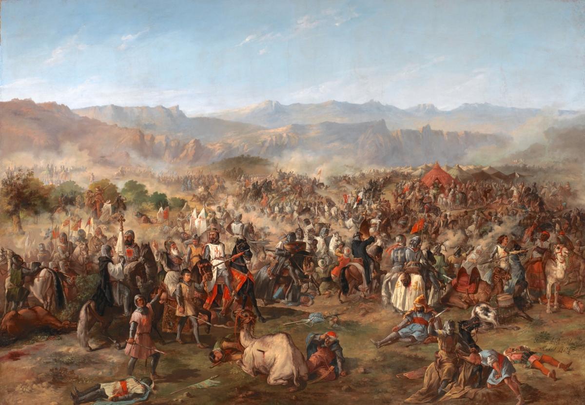 Le 16 juillet 1212, les Navarrais libèrent l'Espagne de ses chaînes islamiques