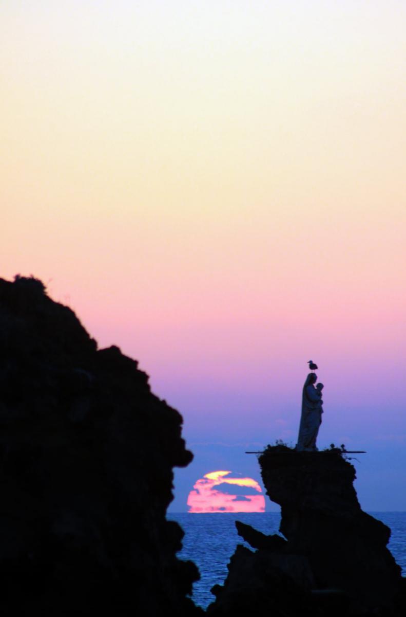 Crépuscule Biarritz le 5 avril 21 par R LATOUR D'AFFAURE.jpg