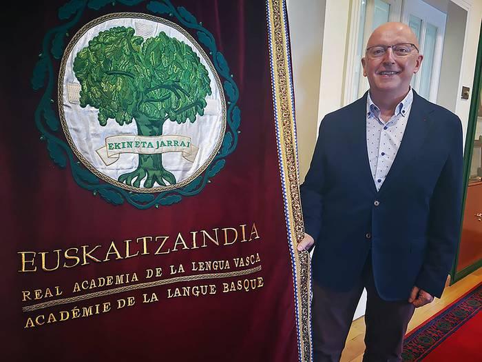 Le linguiste d'Amaiur Pascual Rekalde intègre Euskaltzaindia