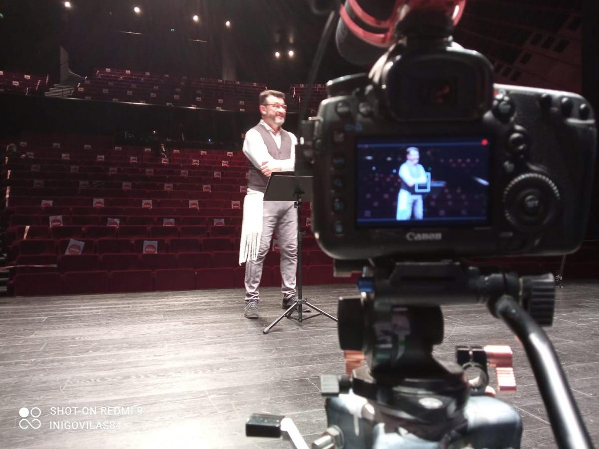 zzManif2 Ascèse enregistre son concert au Théâtre Quintaou à Anglet.jpg
