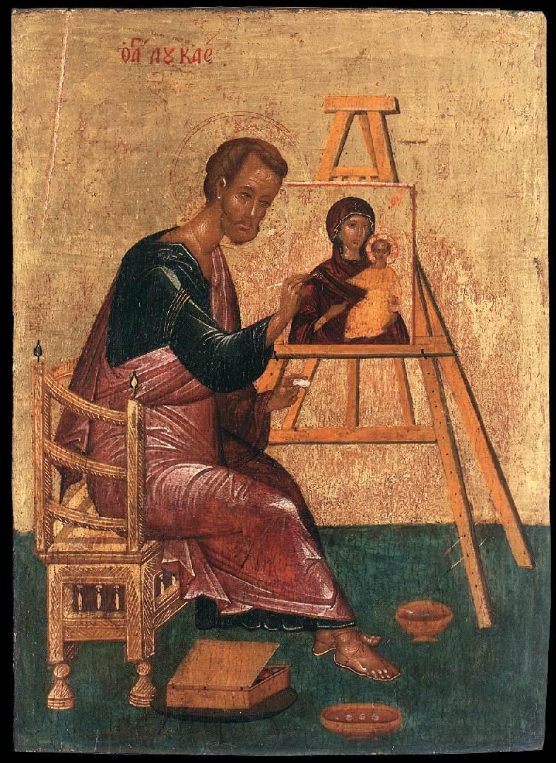 zTradition2 Saint Luc peint une icône de la Vierge Marie.jpg