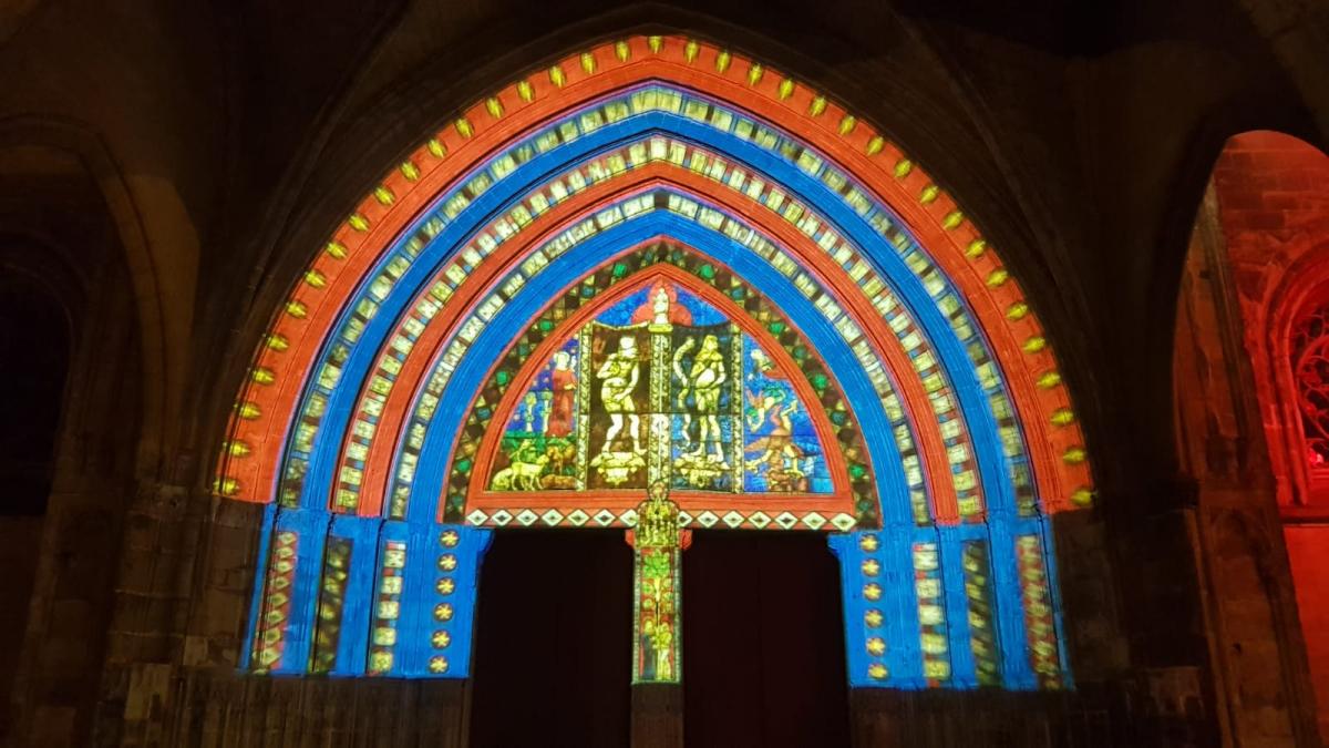 Bayonne: la cathédrale illuminée recevra les chevaliers du Saint-Sépulcre