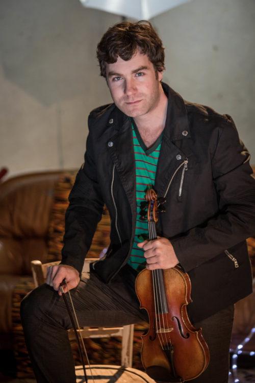 Le violoniste Guillaume Latour jouera avec l'Orchestre Symphonique du Pays Basque