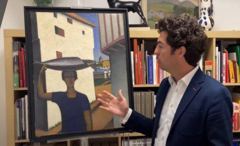 Tobeen et les artistes régionalistes au Pays Basque