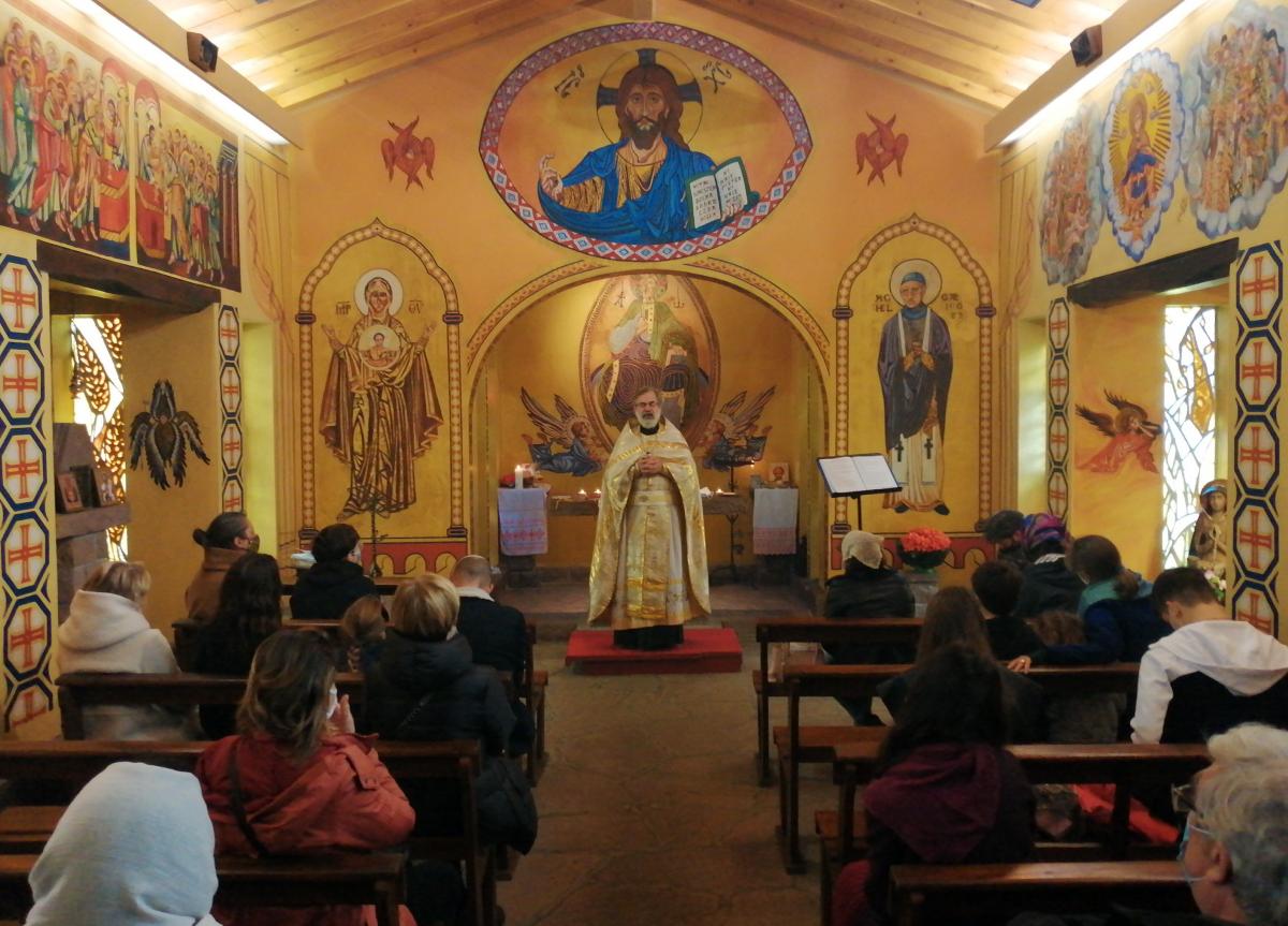 Cambo: la chapelle aux icônes accueille les paroissiens de l'église russe de Biarritz