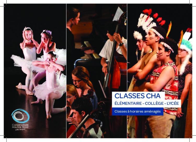 S'inscrire aux Classes à Horaires Aménagés du Conservatoire Maurice Ravel Pays Basque