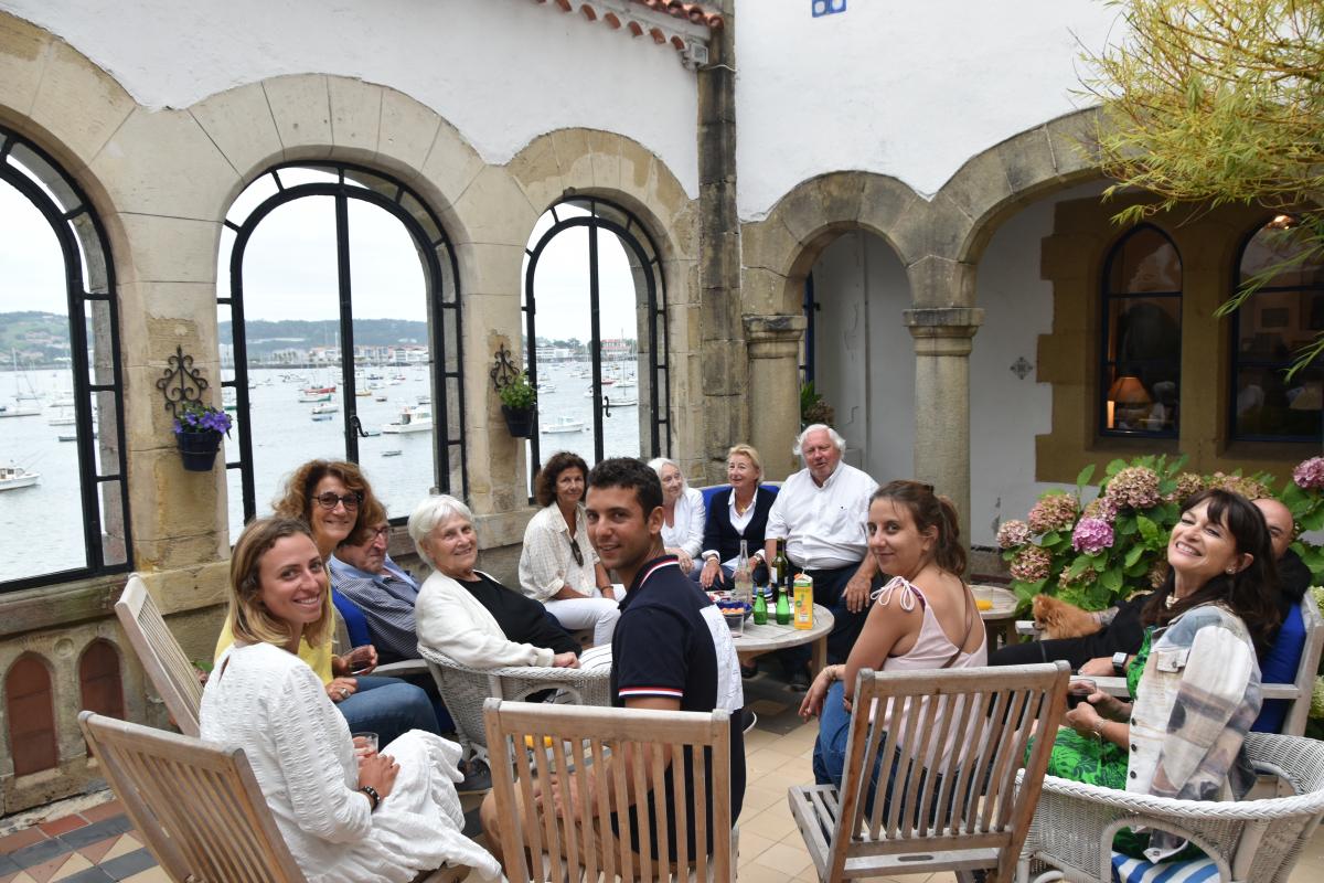 Villa Mauresque: réunion du Prix Pierre Loti autour d'Axel Brücker