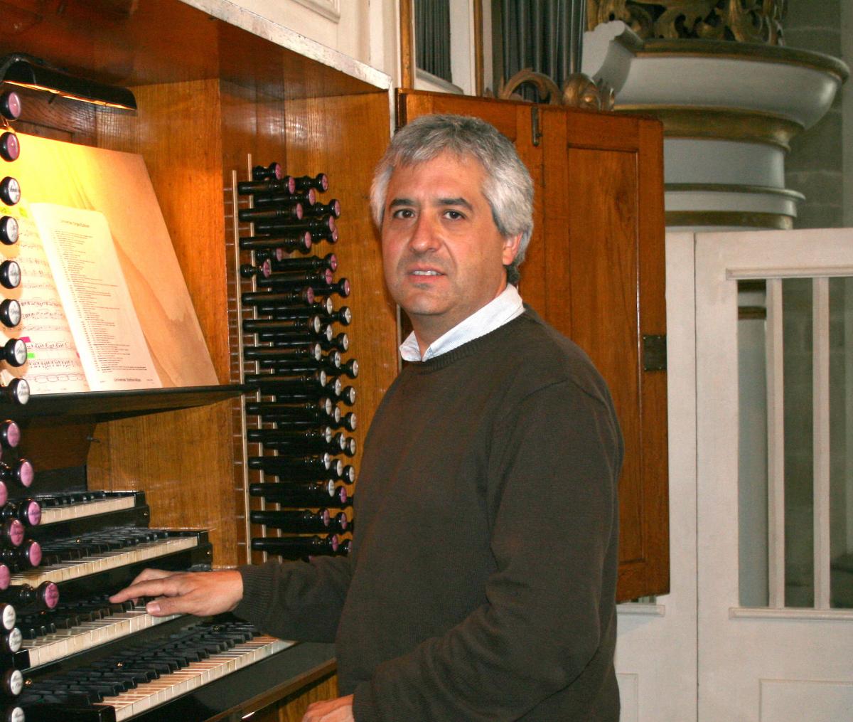 L'organiste Esteban Landart, musicien authentiquement «transfrontalier»