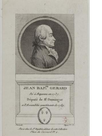 Jean-Baptiste Gérard, député bayonnais de Saint-Domingue et défenseur des hommes de couleur