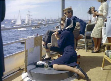 Belle Jackie et son mari John Kennedy.JPG